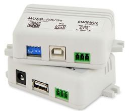 System sterowania rejestratorem USB